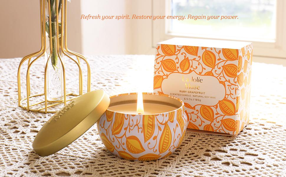 scented candles for home
