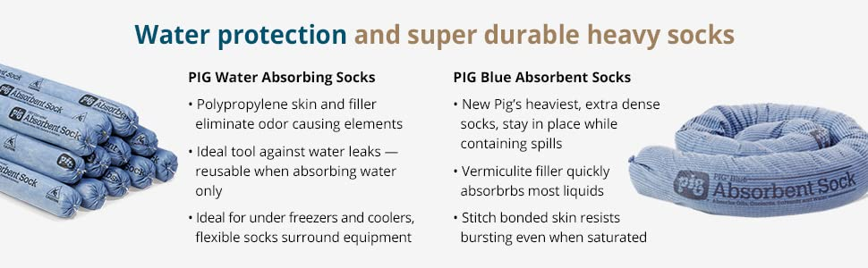 Water protection and super durable heavy socks