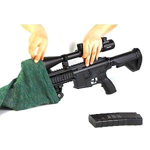 gun socks for rifles with scopes