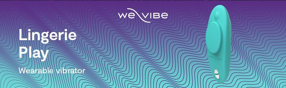 We-Vibe Moxie Panty Vibrator Wearable Smart Sex Toy for Women, Aqua