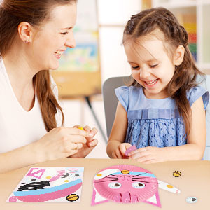 RMJOY Plate Toy