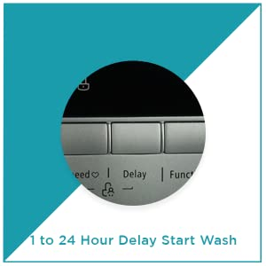 amstrad front load fully automatic washing machine 6kg 7kg 0-to-24 hours delay wash
