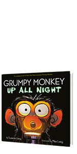 Grumpy Monkey Up All Night by Suzanne Lang; Illustrated by Max Lang