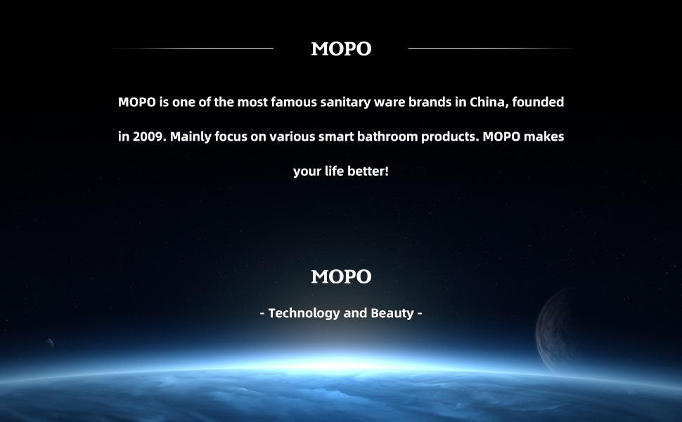 MOPO Brand Instrucion! Your Smile Is Our Ideal!