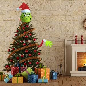 grinch arm ornament