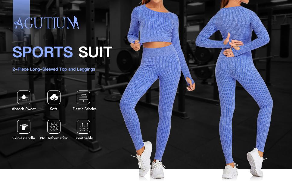Womens Seamless Workout Set