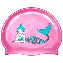 Mermaid girls kids swim cap