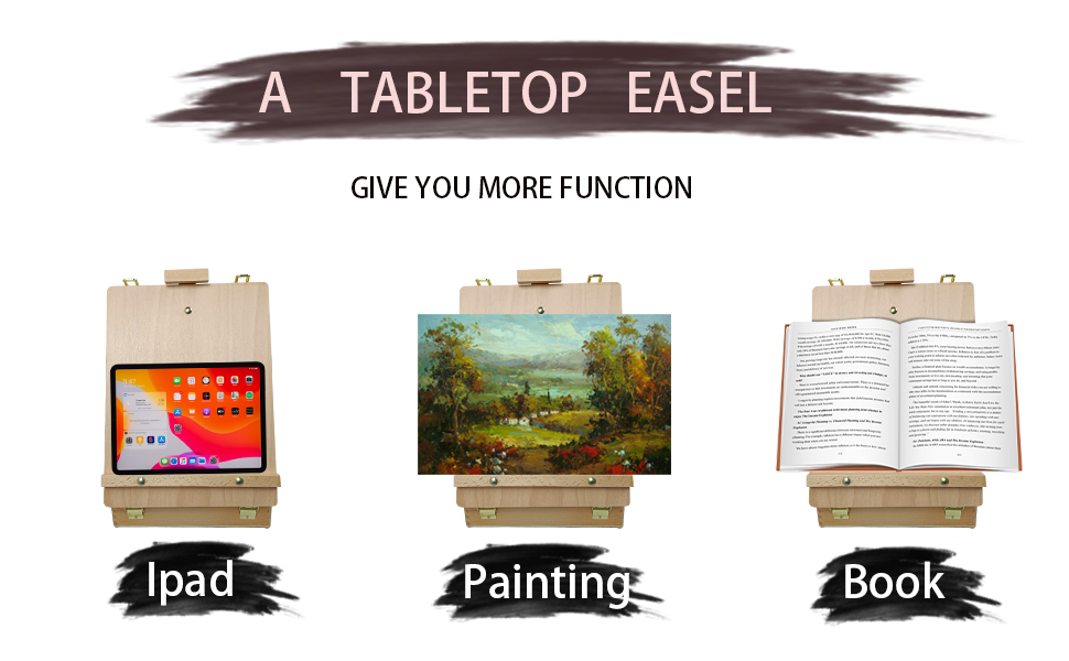 TABLETOP EASEL