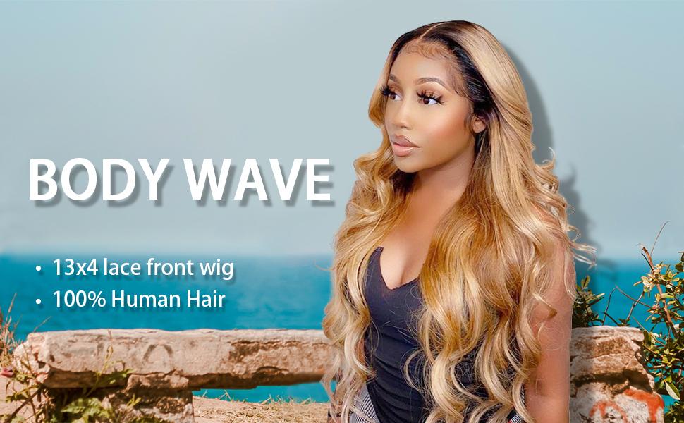1b/27 Color Human hair wigs