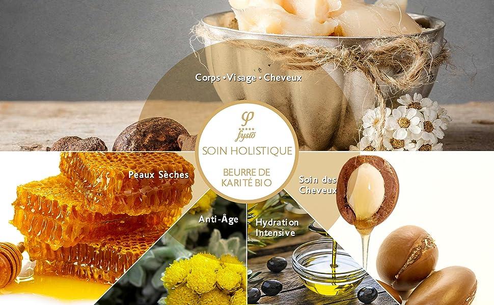 fysio karite creme grec cattier huile moisture shea butter hydratant visage bio olive oil