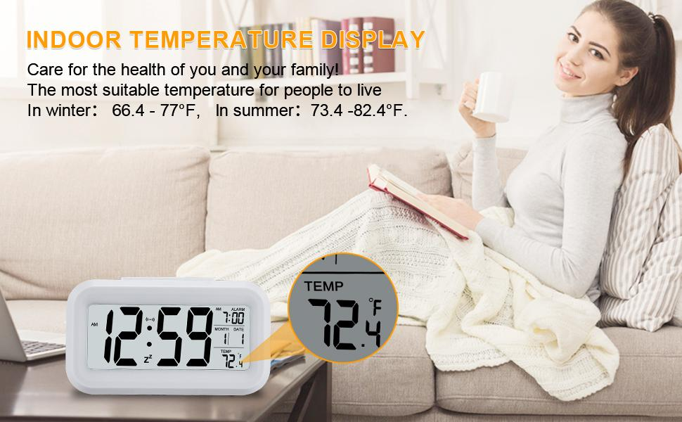 Digital Alarm Clock for girl