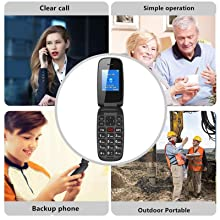 suitable for kids, seniors, workers, back up phone