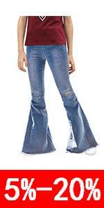 Flared pants forgirls