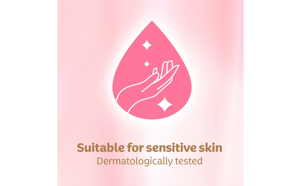 Suitable for Sensitive skin
