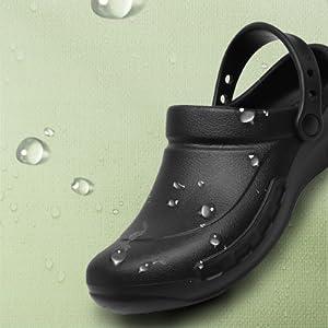 ANTI-SKID Non Slip Clogs Kitchen Shoes Safety Outdoor Work for Gardener Man Nursing Shoes