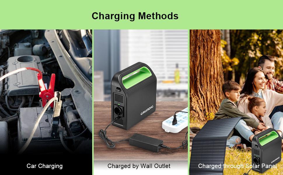 reizen camping Auto Outlet backup noodgevallen zonnepaneel stopcontact opladen