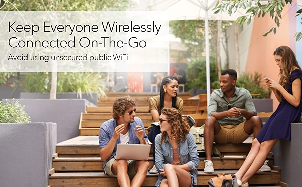 Keep Everyone Wirelessly Connected On-The-Go
