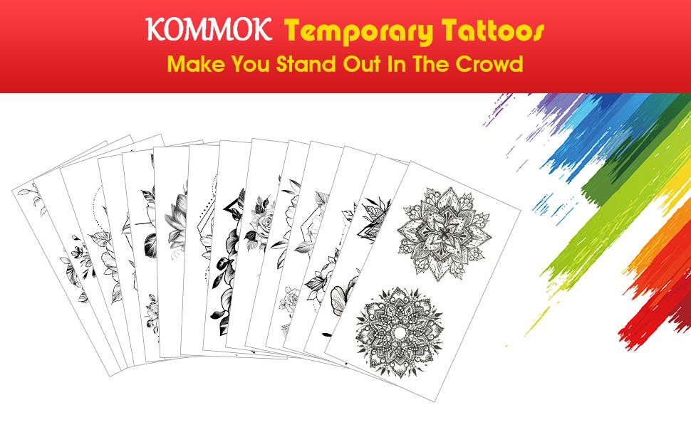 KOMMOK Temporary Tattoo