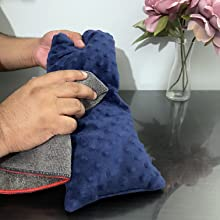solaymans Blue Heating pad cleaning