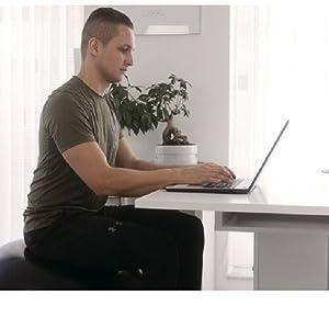 Bürostühl Rückentraining Rückenschonend gesunder Rücken 55 65 75 cm weich hart klein groß gymnastik