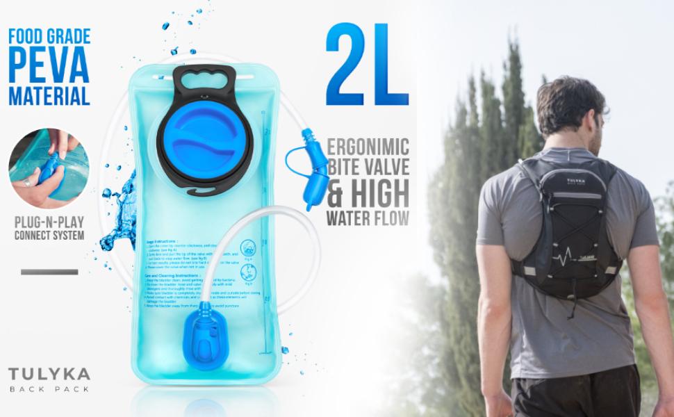 Hydration Pack 2L Bladder
