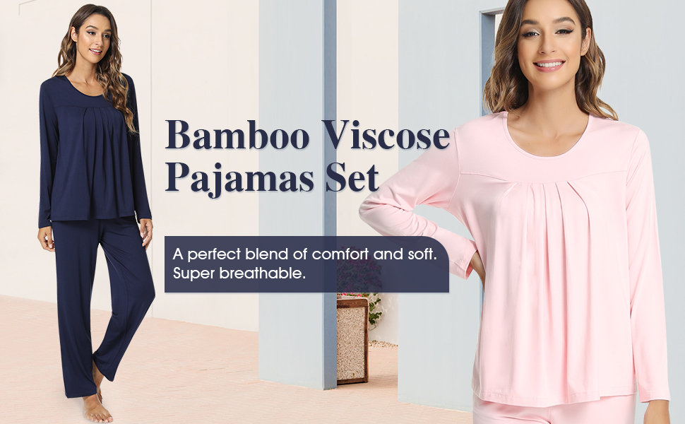 Premium ultra soft 2 piece jammies is breathable and skin-friendly