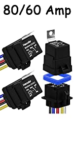 3Pack 80/60 Amp Relay