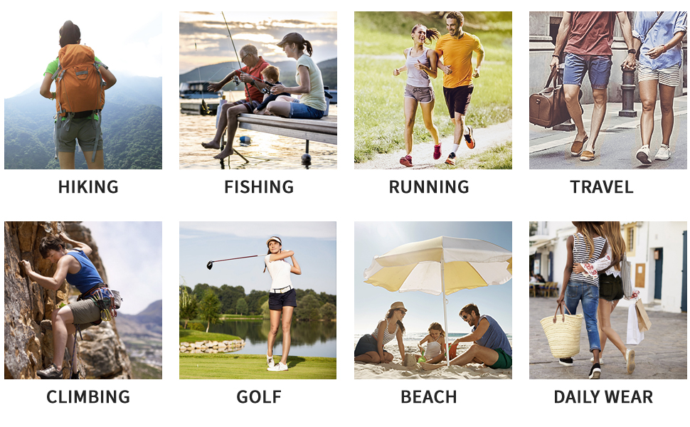 Suit for hiking fishing running travel golf daily