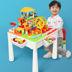 Creative Multi Activity Blocks Table set for kids