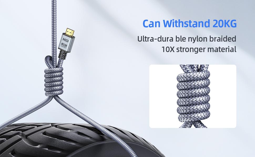 hdmi cable 6 foot hdmi cord 8k hdmi cable