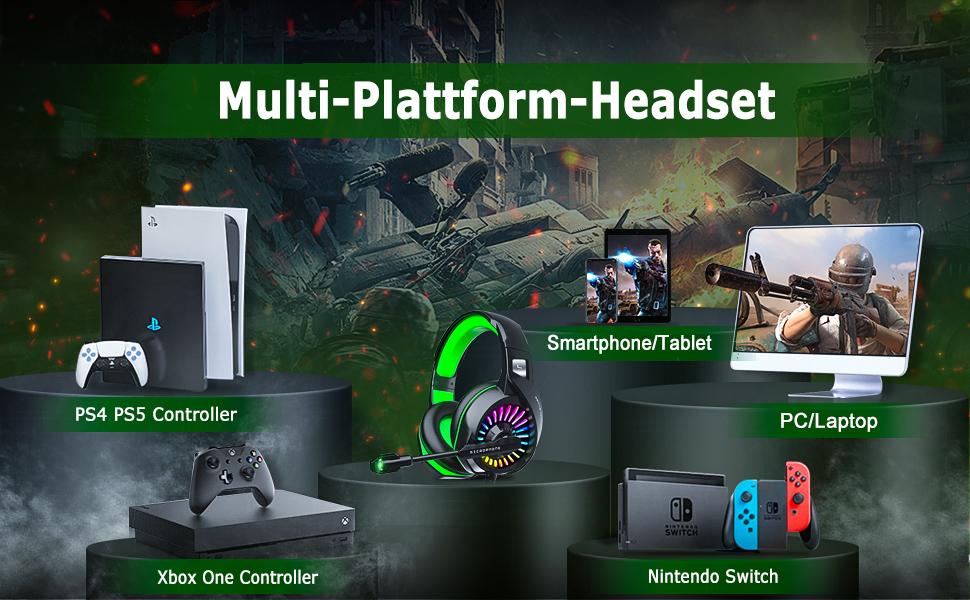 gaming headset mit mikrofon