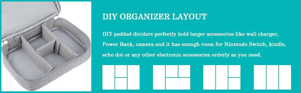 DIY ORGANIZER LAYOUT