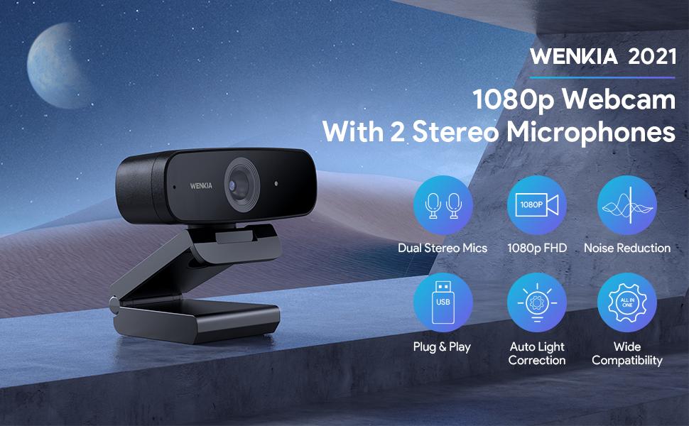 webcam microphone logitech 1080p fhd usb hd 4k streaming 60fps gaming ps4 pc computer web camera