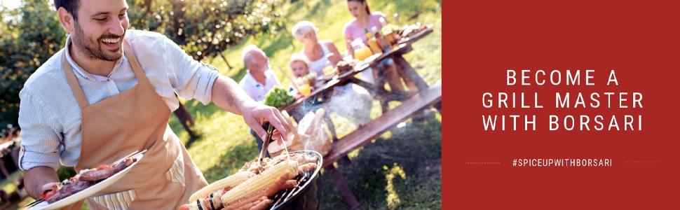 Become a grill master with borsari