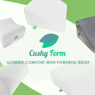 Cushy Form, Ultimate Comfort with Powerful Relief
