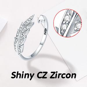 Zircon Adjustable Ring