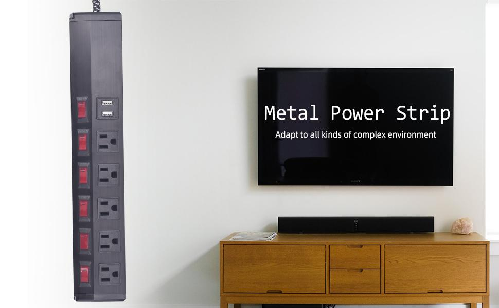 heavy duty surge protector,surge protctor with metal shell