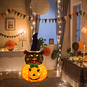 Halloween Decoration at the Party