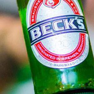 becks bottle
