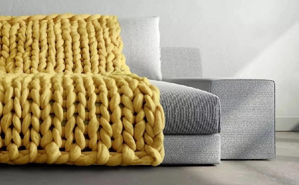 A soft and inviting throw -boho throw blanket- blanket boho decor