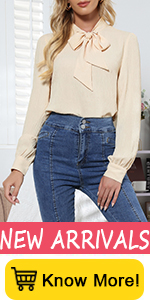 Casual Bow Tie Blouse shirt