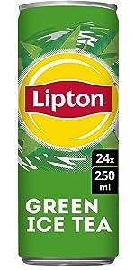 Lipton Ice Tea Green 24 x 250 ML