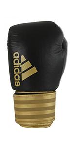 black GOLD 8 oz gloves boxing mma fitness training