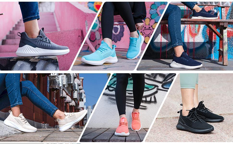 Walking Running Shoes for Women