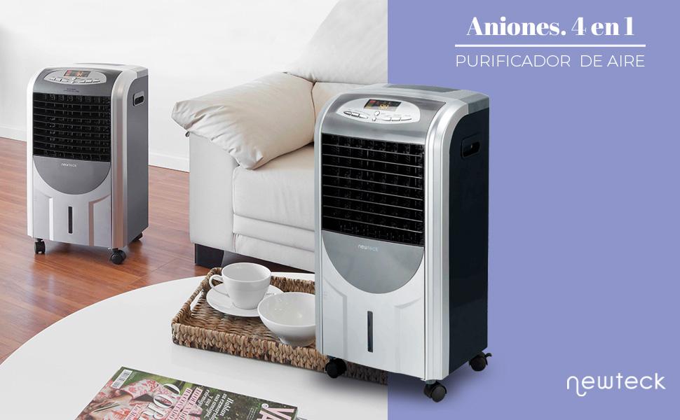 purificador de aire, purificador portátil, purificador antipolen, humidificador aire, newteck