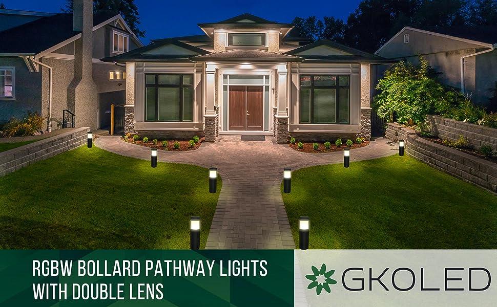 rgb led path lights landscape lights