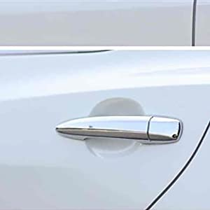 Beautost Fit for Nissan 2021 New Rogue Chrome Door Handle Cover Trims (Chrome)