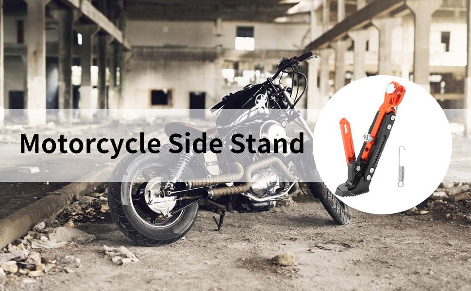 Motorcycle Adjustable Kickstand