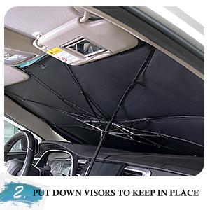 windshield sunshade