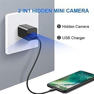 2 IN1  Hidden mini camera